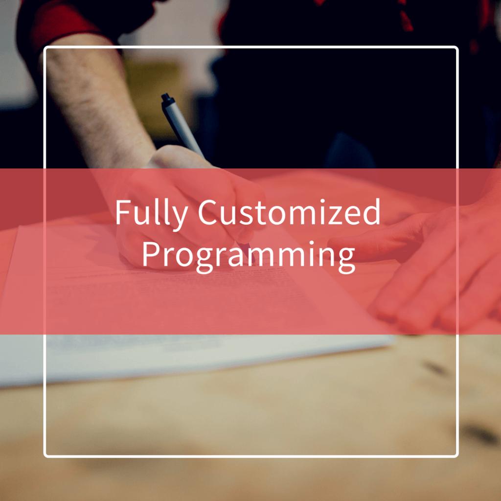 Individual Program Design